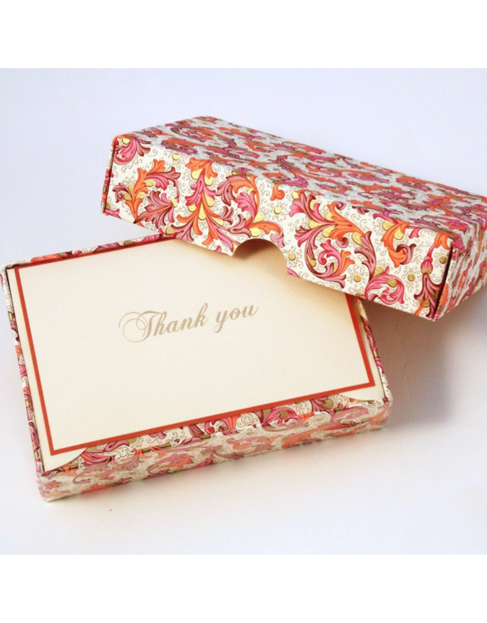 Rossi Thank You Traditional Florentine Pink Box