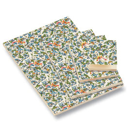 Rossi A5 Notepad Peacock Feathers