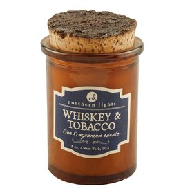 Northern Lights Candles Whiskey & Tobacco 5oz Spirit Candle