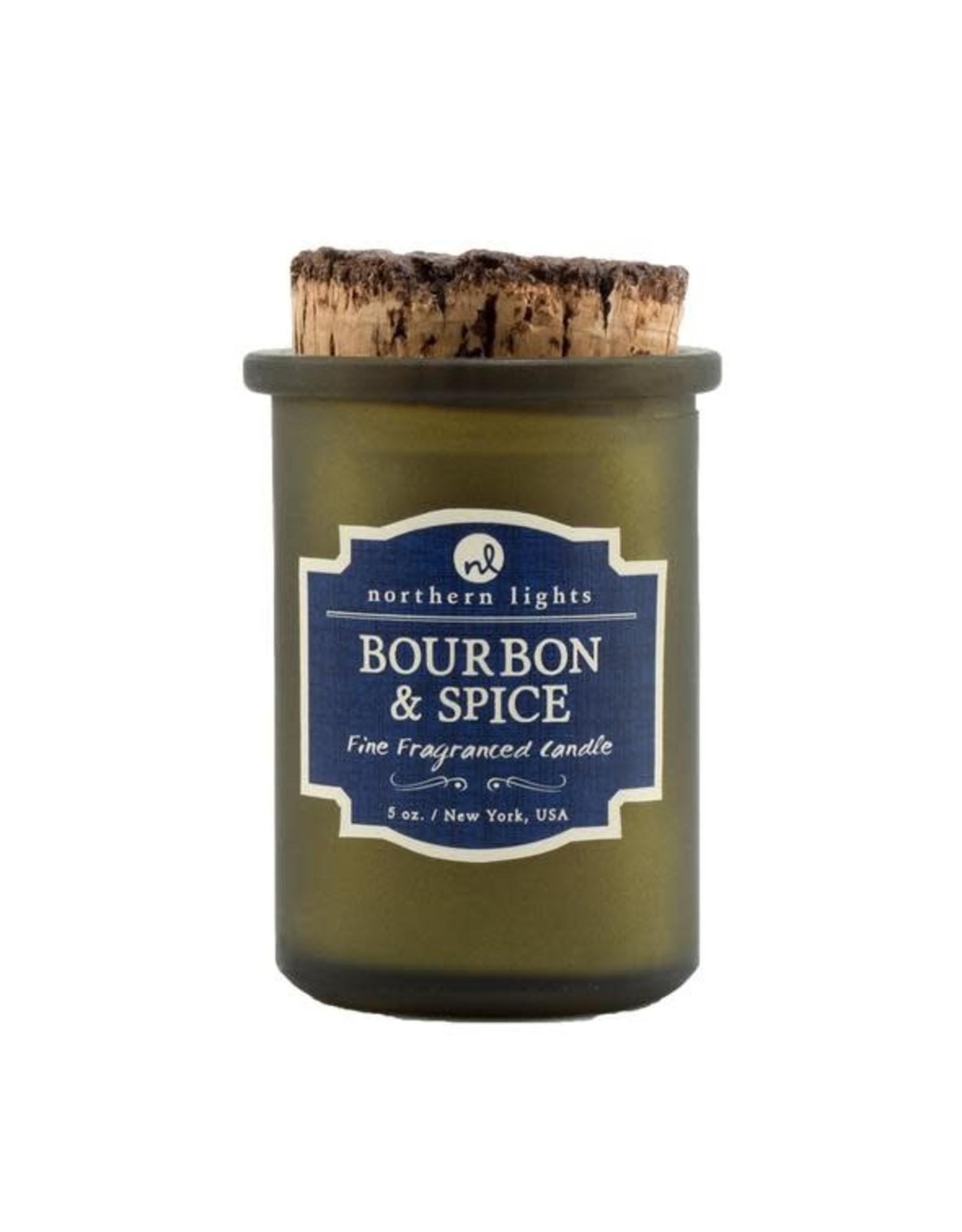 Northern Lights Candles Bourbon & Spice 5oz Spirit Candle