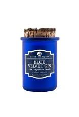 Northern Lights Candles Blue Velvet Gin 5oz Spirit Candle