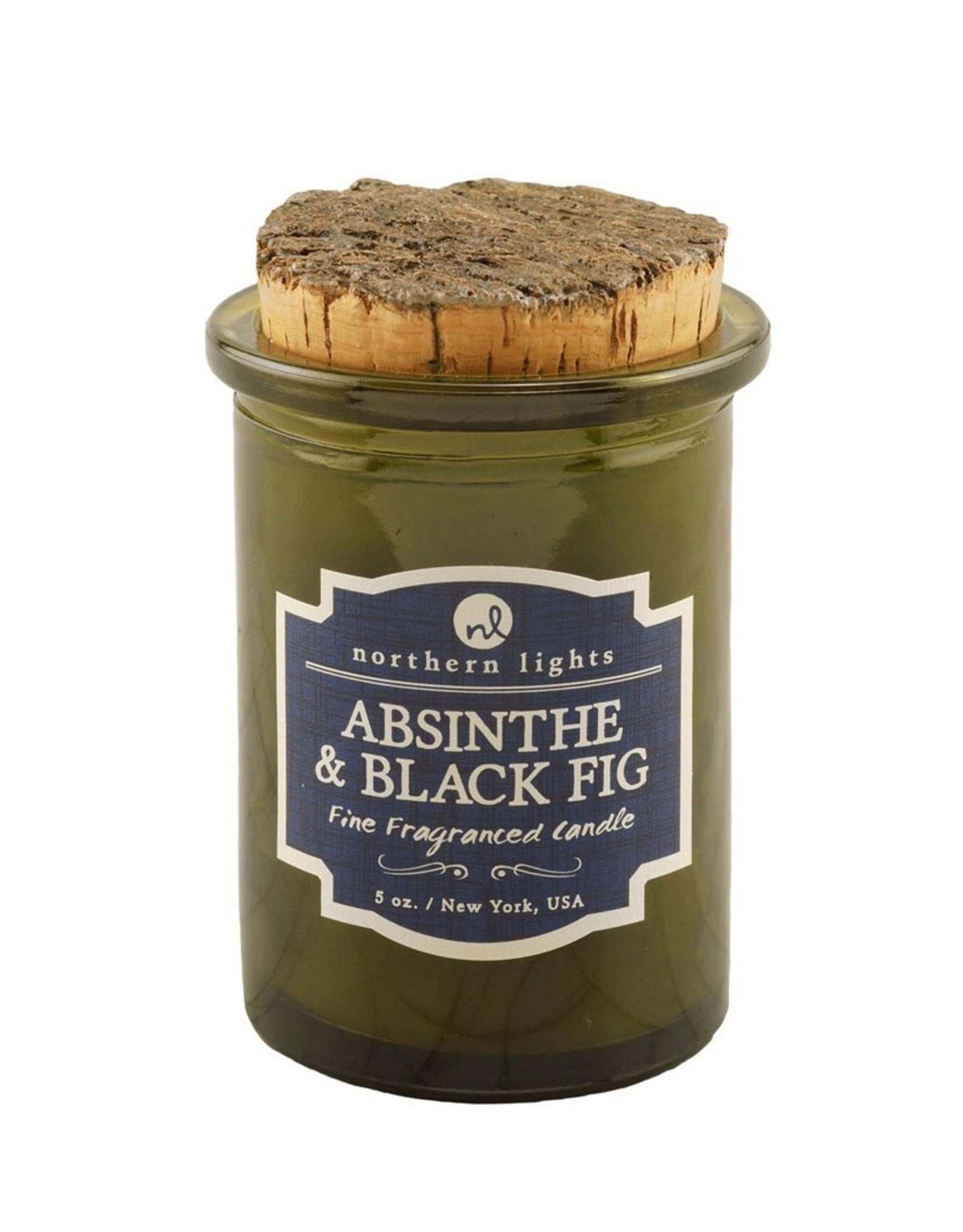 Northern Lights Candles Absinthe & Black Fig 5oz Spirit Candle