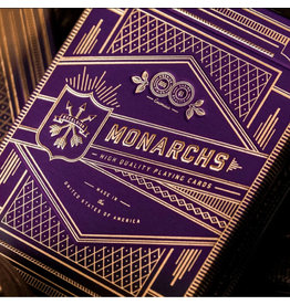 Theory 11 Purple Monarchs Playing Cards