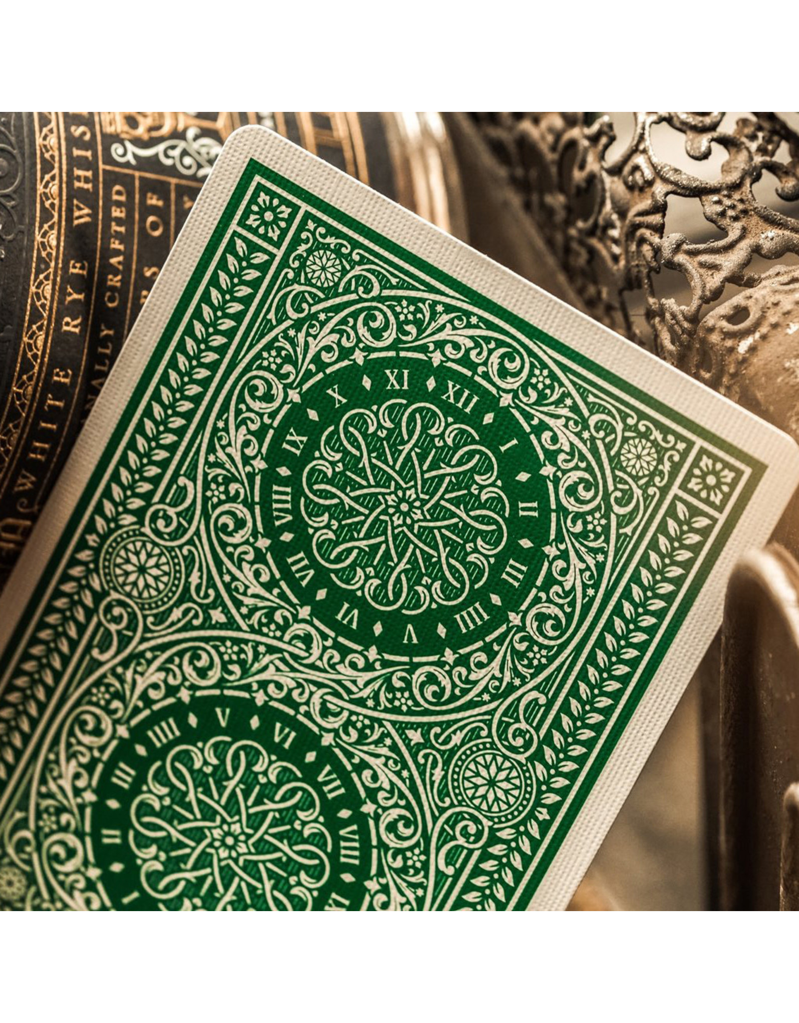 Theory 11 Green Tycoon Playing Cards