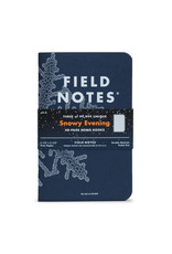 Field Notes Brand Snowy Evening Memo Book 3-Pack