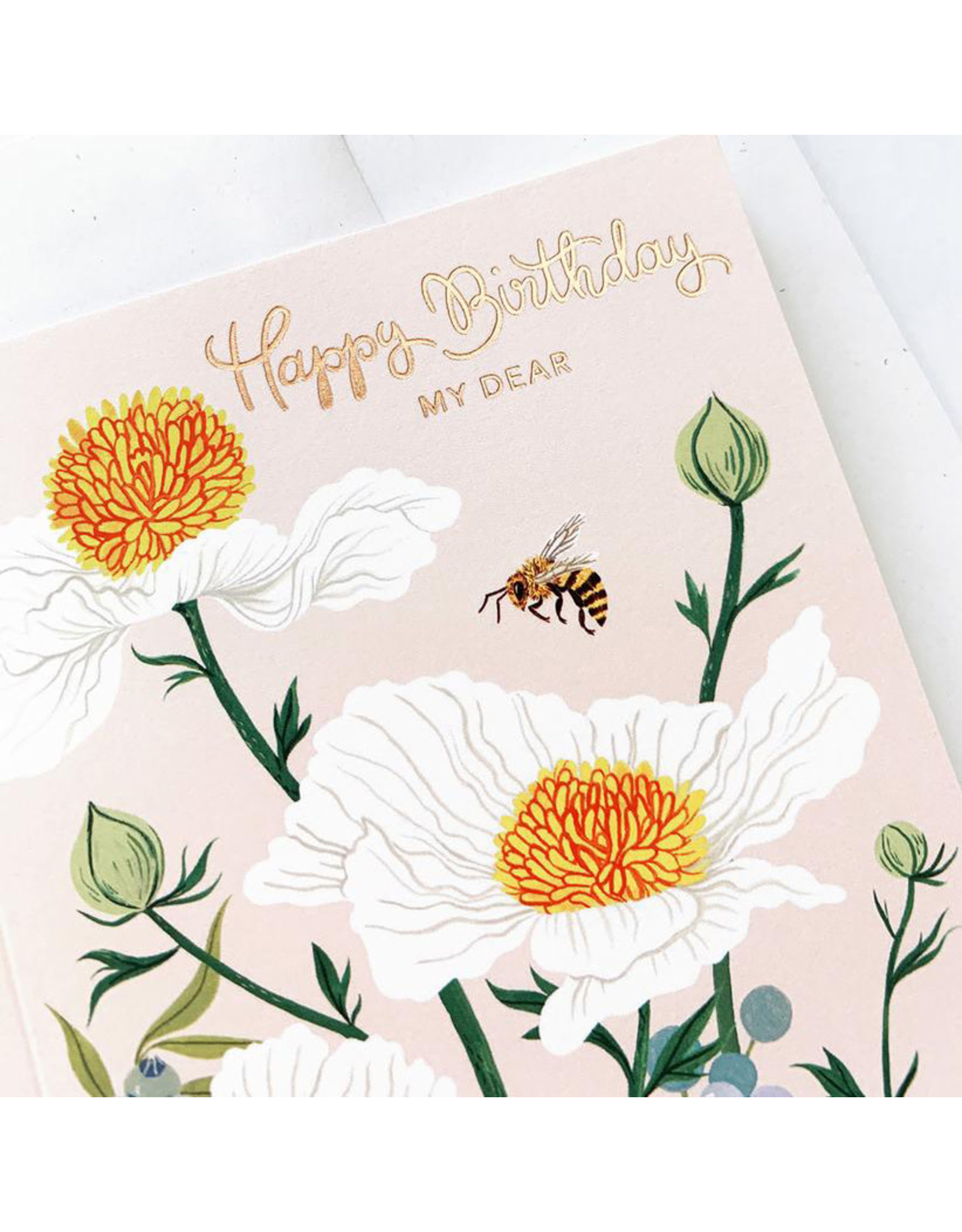 Oana Befort Matilija Poppies Birthday Card