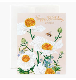 Oana Befort Matilija Poppies Birthday A2 Greeting Card