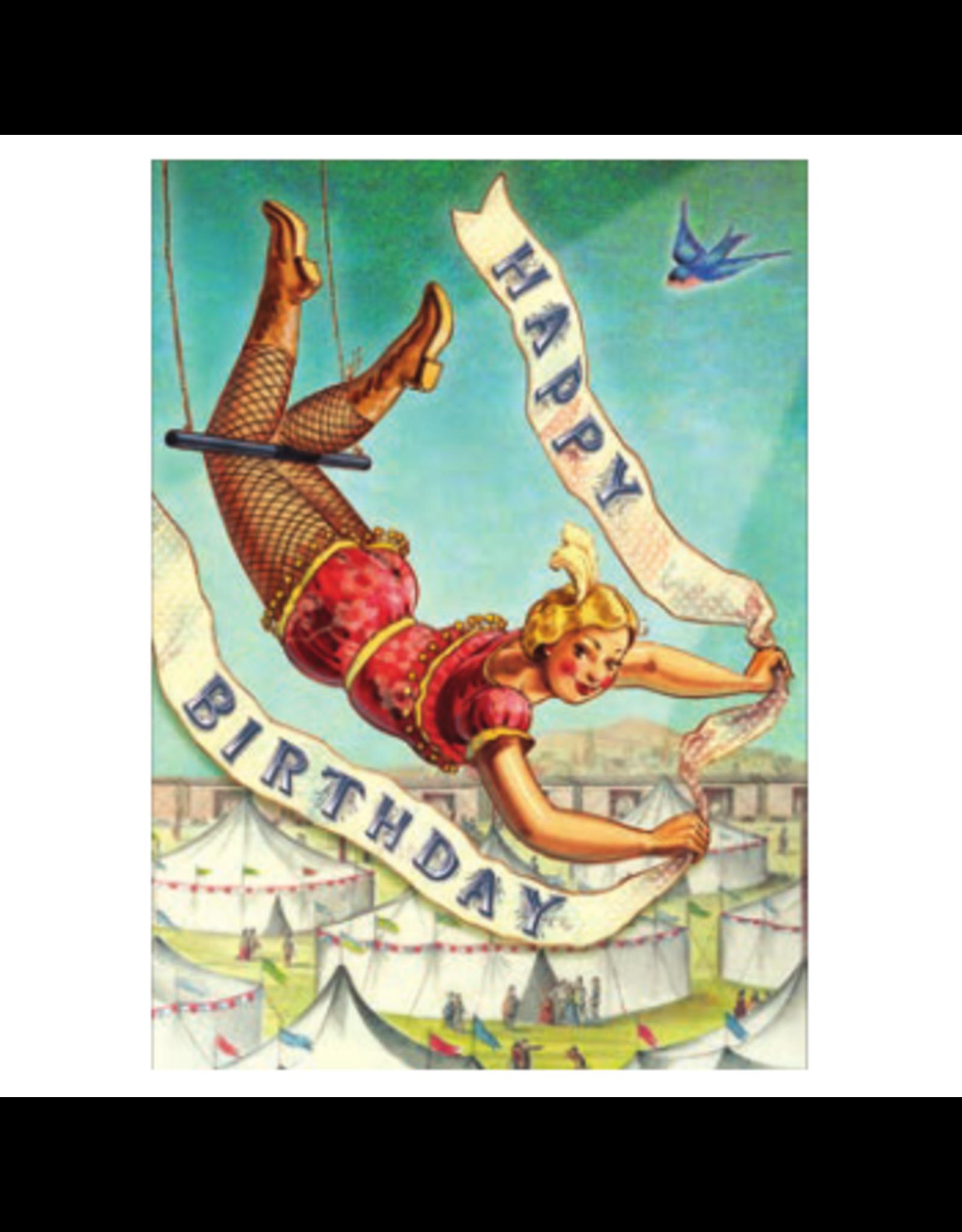 Cartolina Happy Birthday Trapeze A6 Notecard