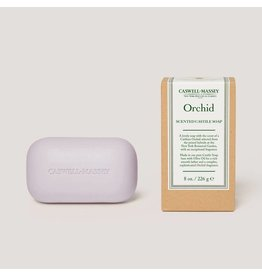 Caswell-Massey Apothecary Orchid Saddle Bar Castile Soap