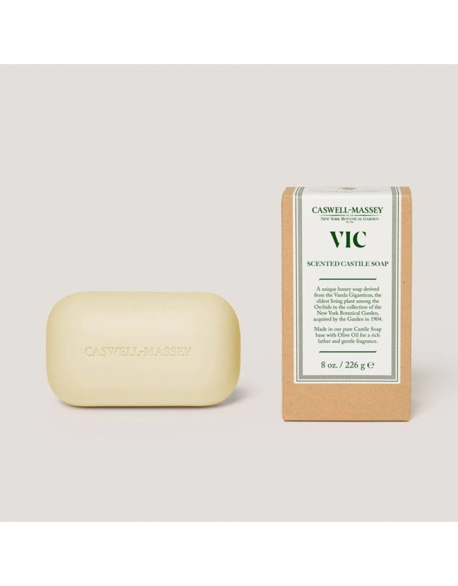 Caswell-Massey Apothecary VIC Saddle Bar Castile Soap