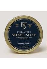 Caswell-Massey Apothecary Sandalwood Hot-Pour Shave Soap Tin
