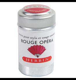 J. Herbin Rouge Opéra 6 Cartridges Tin Red Ink