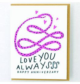 Hello!Lucky Infinite Love A2 Card