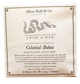 Oliver Pluff & Co. Colonial Bohea - 6 Teabags