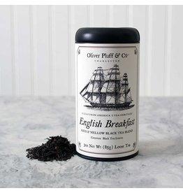Oliver Pluff & Co. Loose English Breakfast Tea in Tin