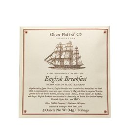 Oliver Pluff & Co. English Breakfast - 6 Teabags