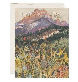 Red Cap Cards Colorado Birthday A2 Notecard