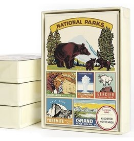 Cavallini Papers & Co. National Parks Boxed Notecards