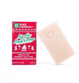Duke Cannon Supply Co. Burning Yule Log Ugly Sweater Edition Big Ass Brick of Soap