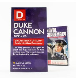 Duke Cannon Supply Co. Naval Supremacy Big Ass Brick of Soap