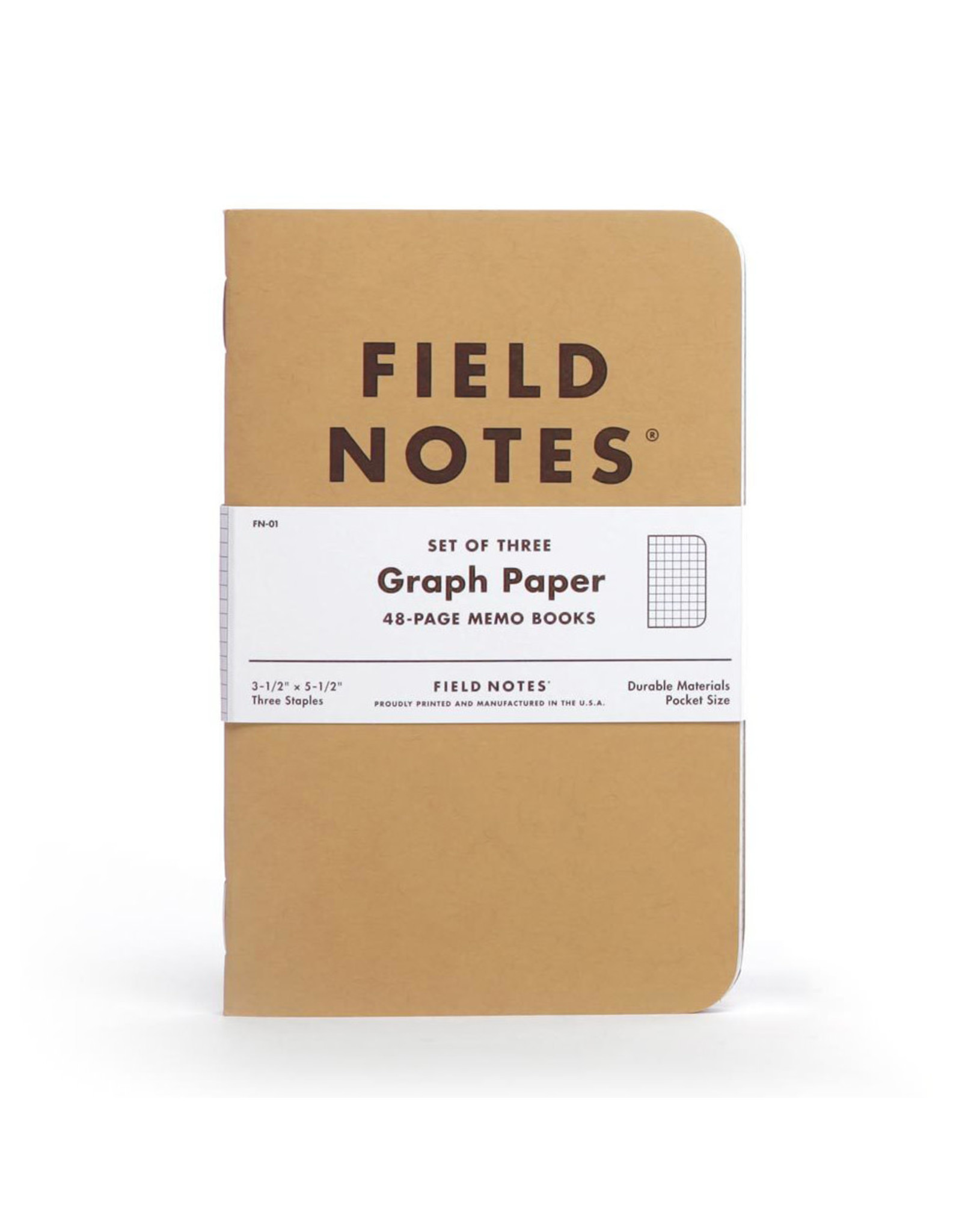 Field Notes Brand Graph Original Pack of 3