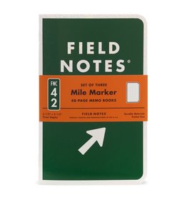 Field Notes Brand Mile Marker Dot Graph Memo Books Pack of 3