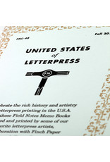 Field Notes Brand United States of Letterpress B Memo Book 3-Pack