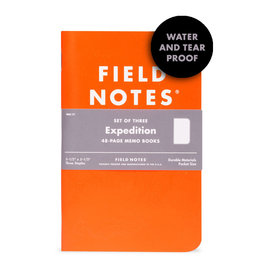 Field Notes Brand Expedition Memo Book 3-Pack