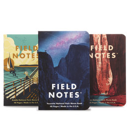 Field Notes Brand National Parks Series A 3-Pack
