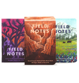 Field Notes Brand National Parks Series B 3-Pack