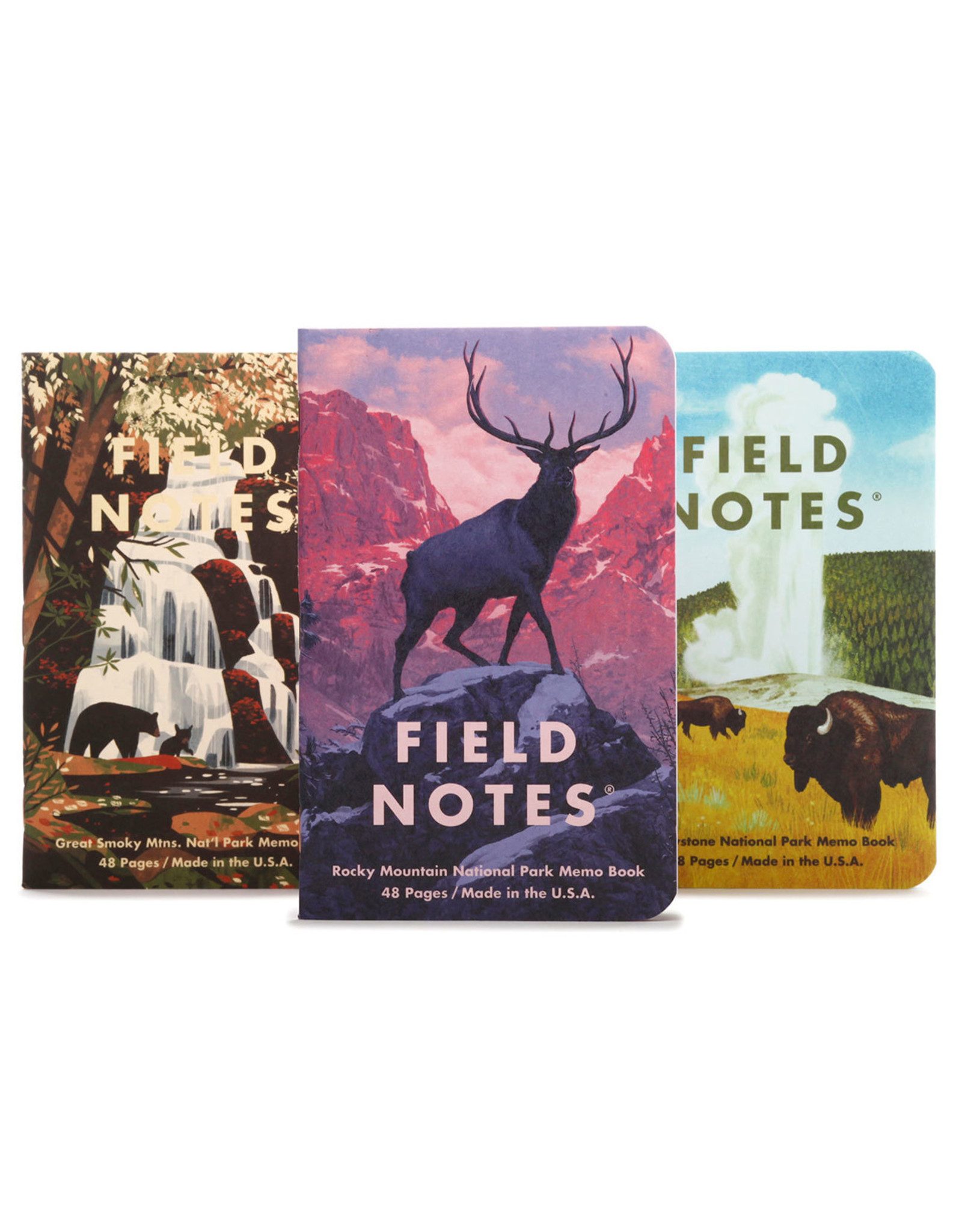 Field Notes Brand National Parks Series C 3-Pack