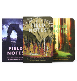 Field Notes Brand National Parks Series D 3-Pack