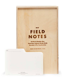 Field Notes Brand Archival Wooden Box
