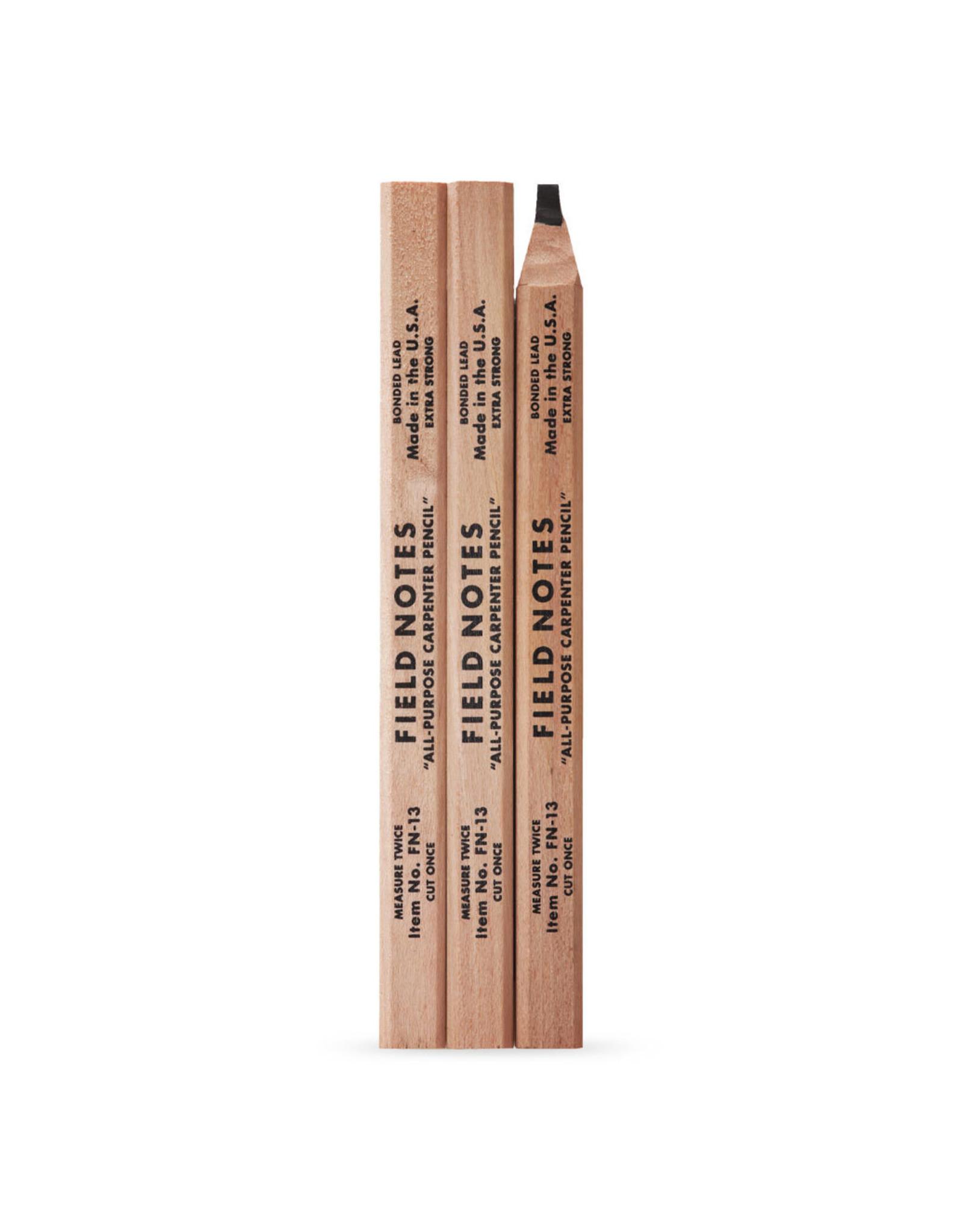 Field Notes Brand Carpenter Pencils 3-Pack