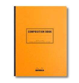 Rhodia Orange Rhodia Composition Book Lined