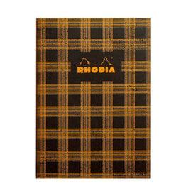 Rhodia Tartan Lined Rhodia Heritage Sewn Spine Notebook 6 x 8.25
