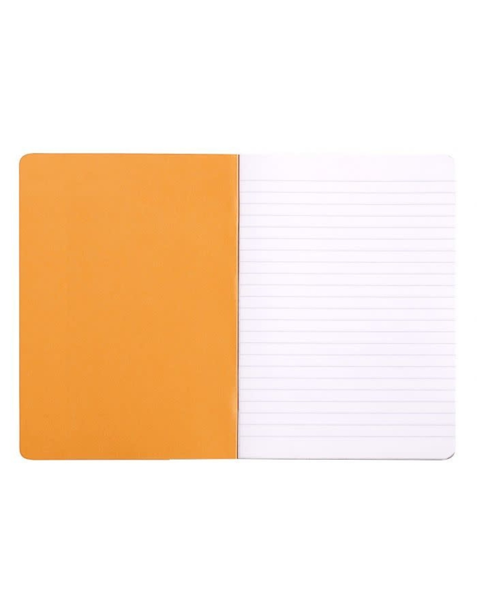 Rhodia Rhodia Orange Lined Classic Notebook 6 x 8.25