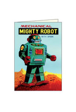 Rossi Vintage Robot Notecards Assorted Box of 12