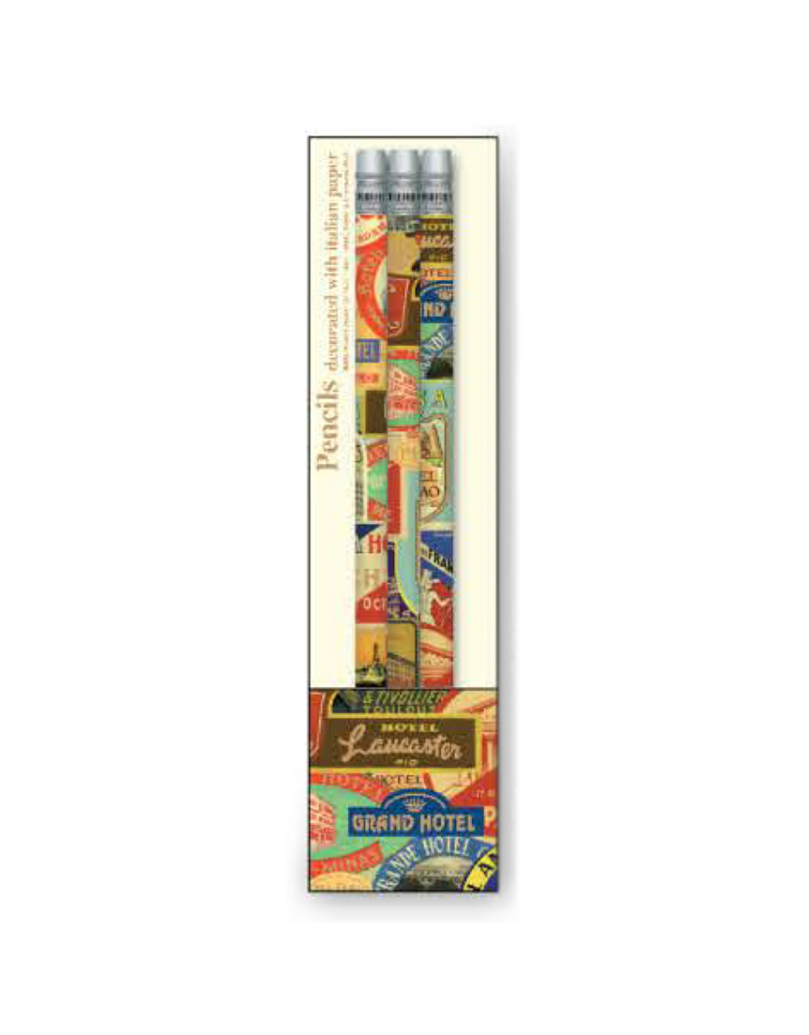 Rossi Pencils 'Hotel Luggage Labels' 3-Pack