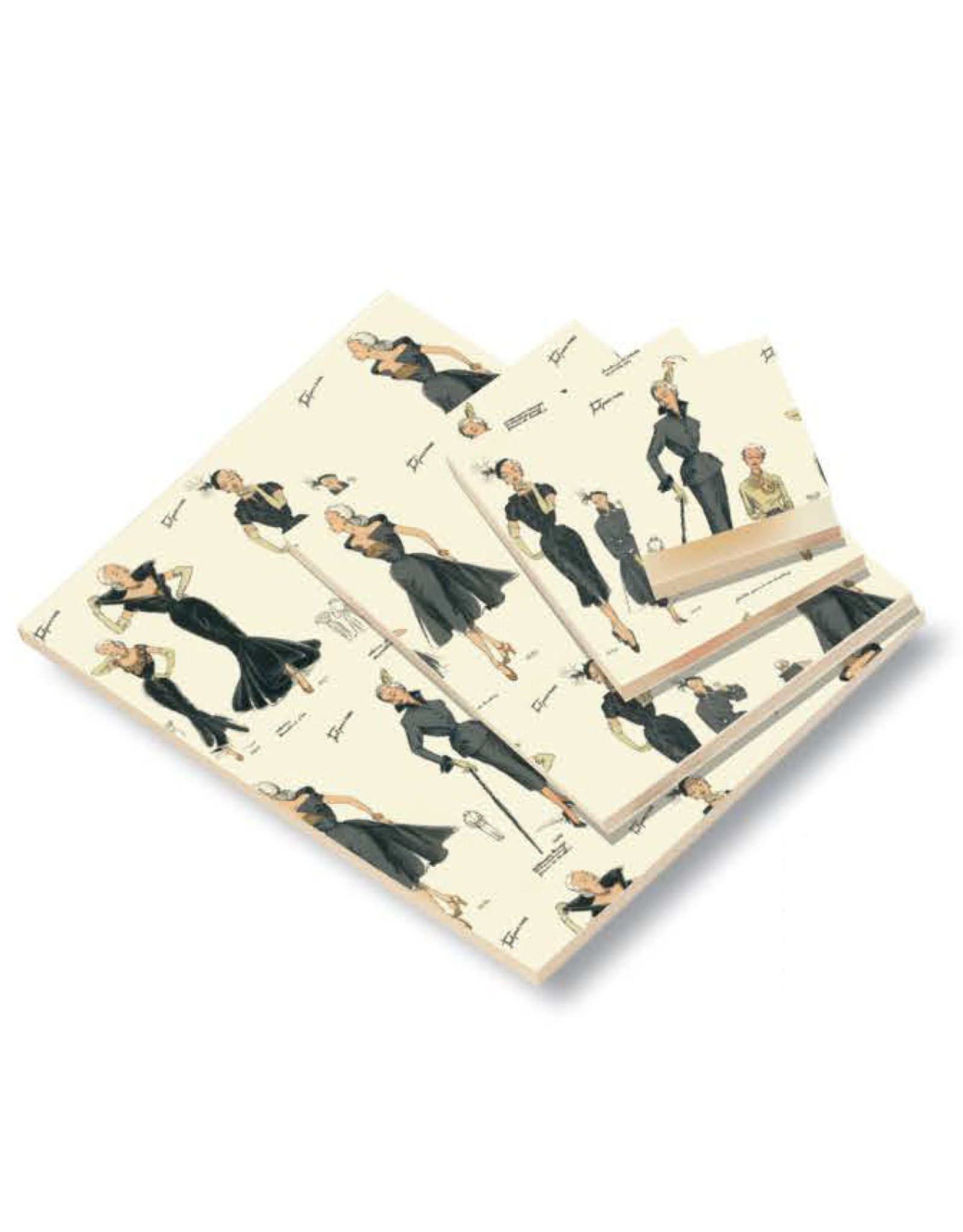 Rossi Women's Fashion Blank A4 Notepad