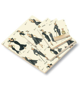 Rossi Women's Fashion Blank A7 Notepad