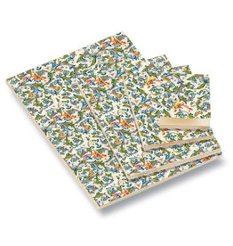 Rossi Birds Florentine Blank A5 Notepad