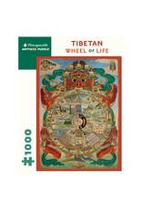 Pomegranate Tibetan Wheel of Life 1000-piece Jigsaw Puzzle