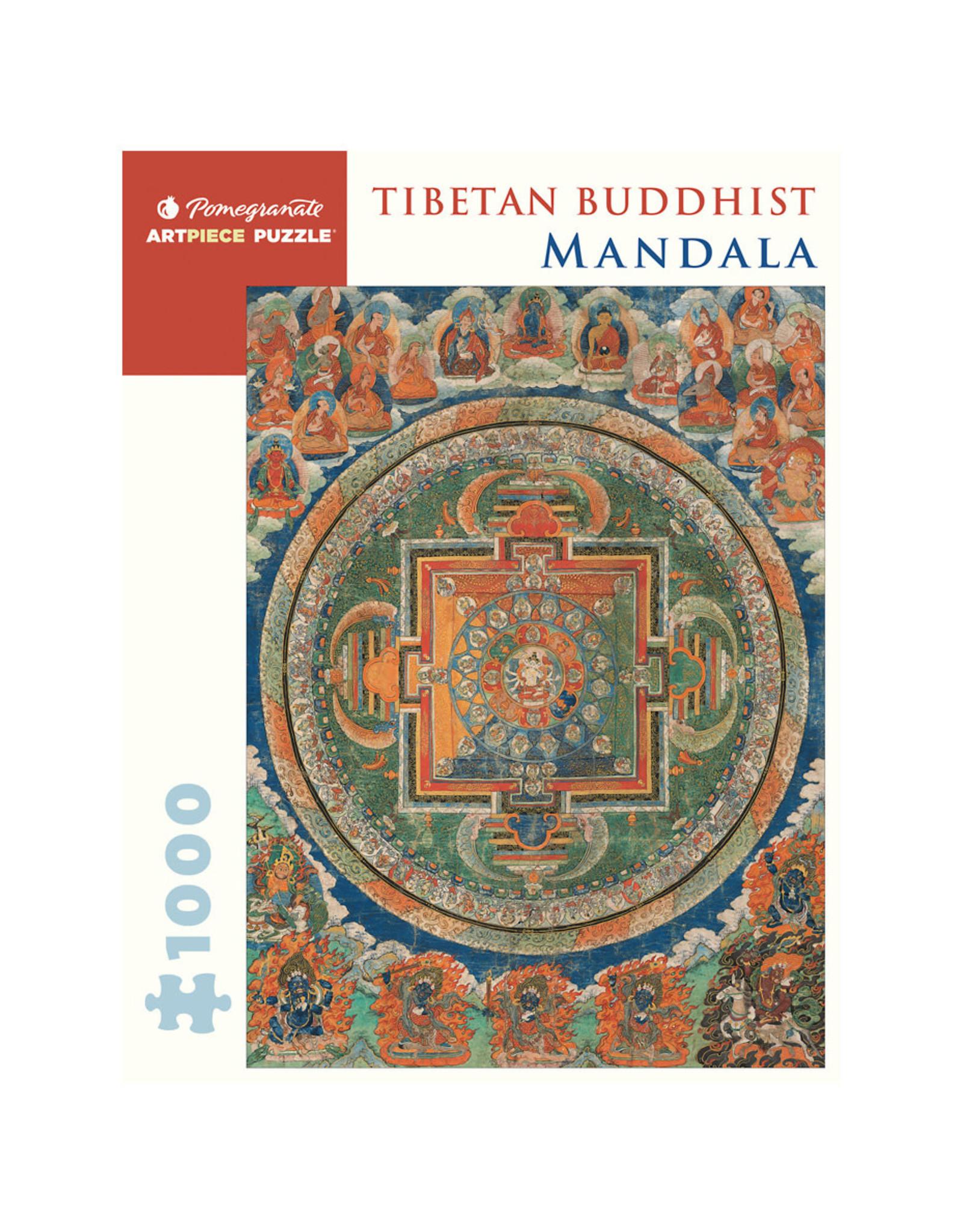 Pomegranate Tibetan Buddhist Mandala 1000-piece Jigsaw Puzzle