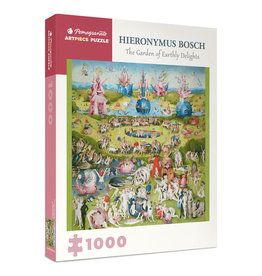 Pomegranate Hieronymus Bosch: The Garden of Earthly Delights 1000-Piece Jigsaw Puzzle