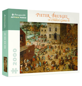 Pomegranate Pieter Bruegel: Children's Games 2000-Piece Jigsaw Puzzle