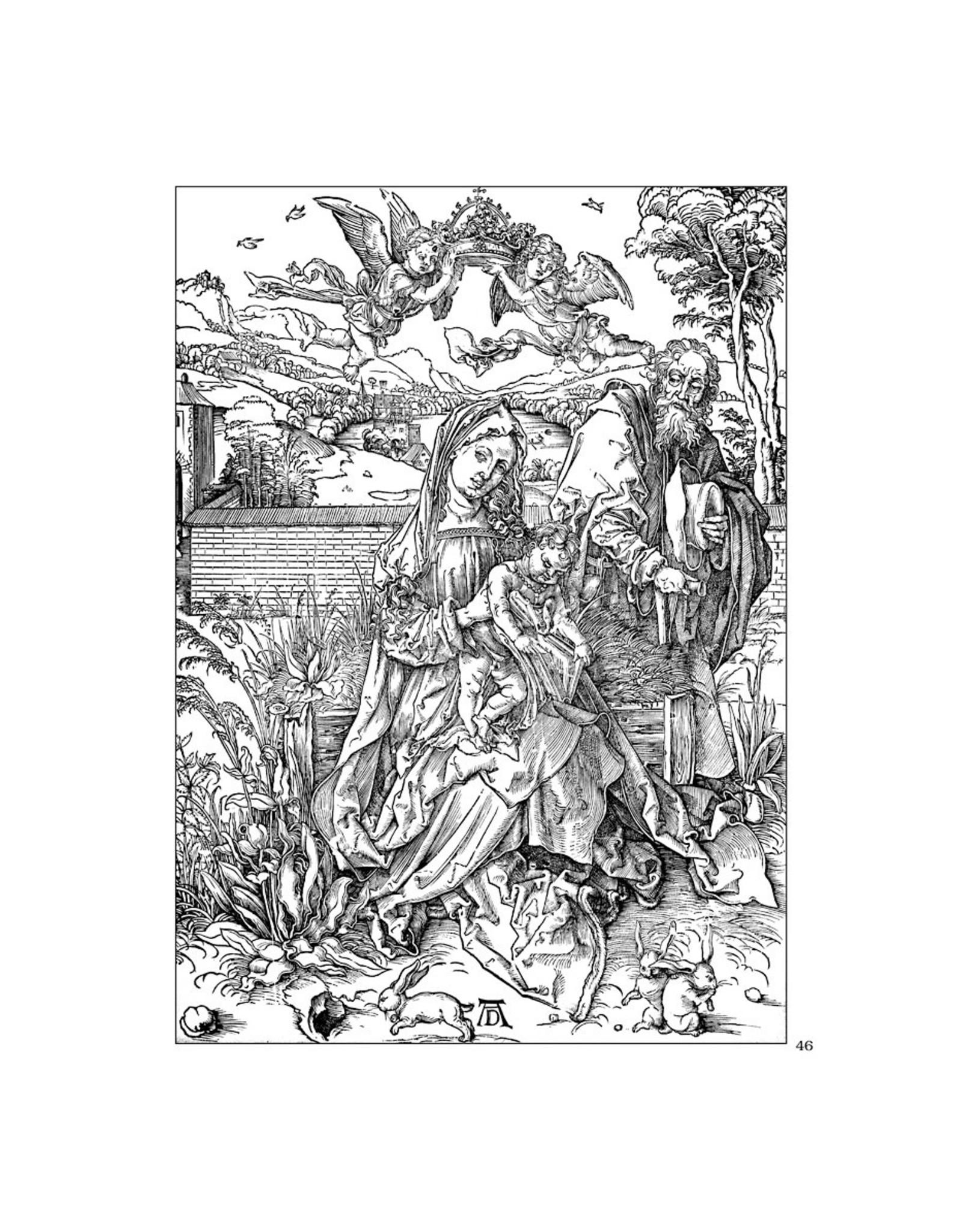 Pomegranate Albrecht Dürer Coloring Book