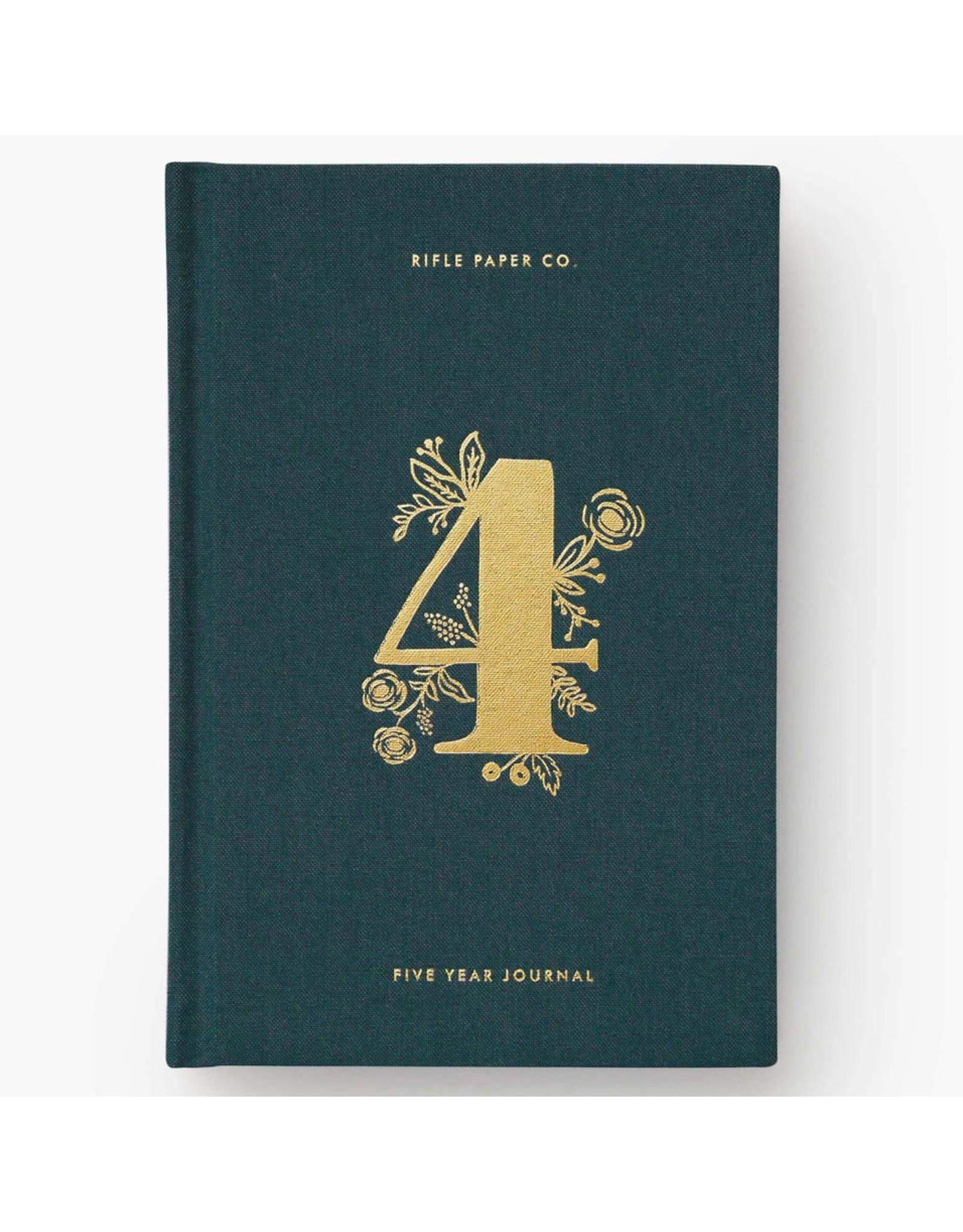 Rifle Paper Co. 5 Year Keepsake Journal Set
