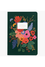 Rifle Paper Co. Garden Party Stitched Notebooks Set of 3