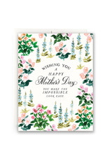 Antiquaria Spring Garden Mother's Day A2 Greeting Card